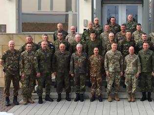 Φωτογραφία για Συμμετοχή Αρχηγού Γενικού Επιτελείου Στρατού στο 27ο Συνέδριο Ευρωπαϊκών Στρατών στο Wiesbaden Γερμανίας
