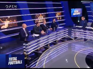 Φωτογραφία για Total Football απόψε με ντέρμπι Ολυμπιακός-ΑΕΚ