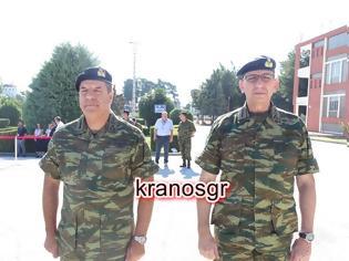 Φωτογραφία για Ευχαριστίες στους Στρατηγούς Λαλούση και Κούτρα