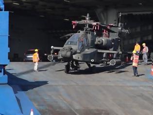 Φωτογραφία για Βόλος: Η εντυπωσιακή επιχείρηση μεταφοράς εξοπλισμού από την 3η Ταξιαρχία Αεροπορίας Στρατού των ΗΠΑ