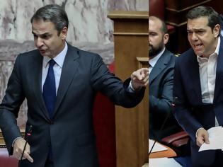 Φωτογραφία για Καβγάς στη Βουλή- Μητσοτάκης: Μια φορά ψεύτης, πάντα ψεύτης, Τσίπρας: Θα φέρω πρακτικά, θα αναιρέσετε