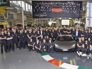 Φωτογραφία για 14.000 Lamborghini Huracan