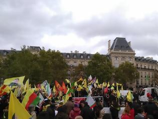 Φωτογραφία για Γαλλία: Εκατοντάδες Κούρδοι διαδήλωσαν ζητώντας κυρώσεις κατά της Τουρκίας