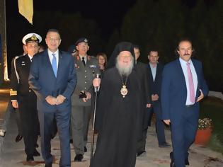 Φωτογραφία για Παρουσία ΥΦΕΘΑ Αλκιβιάδη Στεφανή στις εκδηλώσεις εορτασμού της 107ης Επετείου των Ελευθερίων της κοινότητας Κέλλης