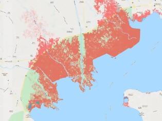 Φωτογραφία για Έρευνα δείχνει ότι μεγάλο μέρος της Θεσσαλονίκης θα βουλιάξει (pics)