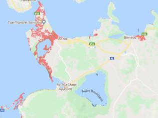 Φωτογραφία για Έκθεση: Ποιες περιοχές της Ελλάδας κινδυνεύουν να βουλιάξουν - σενάριο τρόμου για Μεσολόγγι-εκβολές (χάρτες)