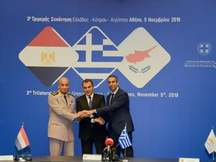 Φωτογραφία για Ολοκλήρωση 3ης Τριμερούς Συναντήσεως Ελλάδος – Κύπρου – Αιγύπτου