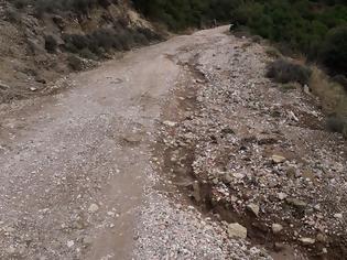 Φωτογραφία για ΘΥΡΡΕΙΟ Βόνιτσας: Η κακοκαιρία δημιούργησε ζημιές στους αγροτικούς δρόμους!