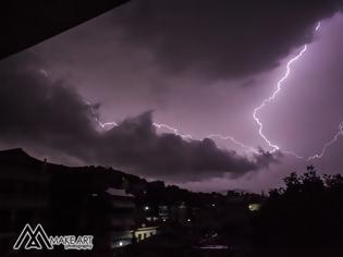 Φωτογραφία για Εγινε η νύχτα μέρα από τις αστραπές στον ΑΣΤΑΚΟ - Απίστευτες εικόνες απο Make Art...