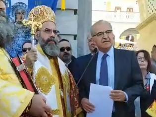Φωτογραφία για Στον Πανορμίτη ο υφυπουργός Εξωτερικών Αντώνης Διαματάρης