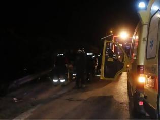 Φωτογραφία για Δυο νεκροί και δύο τραυματίες από ανατροπή τρακτέρ