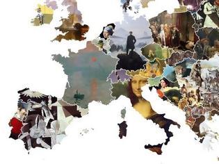 Φωτογραφία για Ο χάρτης της Ευρώπης μέσα από τα πιο εμβληματικά έργα τέχνης κάθε χώρας