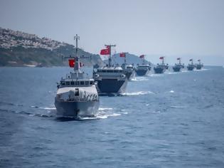 Φωτογραφία για Η Άγκυρα με παράνομη NAVTEX δεσμεύει το Ικάριο Πέλαγος: Οι Τούρκοι με ΝΑΤΟϊκό μανδύα θέλουν τον έλεγχο του Αιγαίου