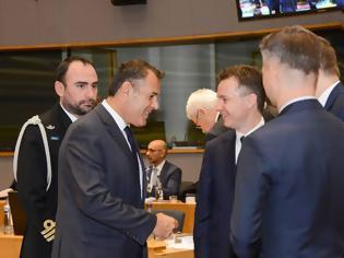 Φωτογραφία για Συμμετοχή ΥΕΘΑ Νικόλαου Παναγιωτόπουλου στο Συμβούλιο Υπουργών Άμυνας της Ε.Ε. στις Βρυξέλλες