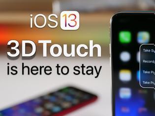 Φωτογραφία για Το tweak που αποκαθιστά το 3D Touch στο iPhone σας στο iOS 13