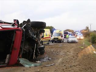 Φωτογραφία για Σλοβακία: 13 νεκροί και 20 τραυματίες από σύγκρουση λεωφορείου με φορτηγό