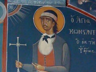 Φωτογραφία για Ο Άγιος νεομάρτυς Κωνσταντίνος ο Υδραίος (14/11/1800)