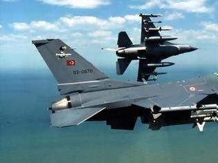 Φωτογραφία για Προκαλεί η Τουρκία: F-16 πέταξε πάνω από το Καστελόριζο