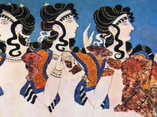 Φωτογραφία για Πώς απεικονίζονταν στις τοιχογραφίες κατά την εποχή του χαλκού οι γυναίκες ανά την Ελλάδα;