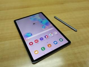 Φωτογραφία για TO tablet με τη χορταστική οθόνη Super AMOLED 10,5