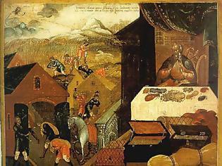 Φωτογραφία για ΚΥΡΙΑΚΗ Θ' ΛΟΥΚΑ-Ο πλούσιος διαλαλεί τη φοβερή φτώχεια του,λέγοντας εκείνο το «δεν έχω».