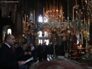 Φωτογραφία για 12761 - Η ανακομιδή των λειψάνων του Αγίου Γεωργίου στην Ιερά Μονή Ζωγράφου Αγίου Όρους, παρουσία του Προέδρου της Βουλγαρίας