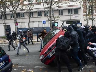 Φωτογραφία για Γαλλία: Πάνω από 260 συλλήψεις μετά τις συγκεντρώσεις των «κίτρινων γιλέκων»