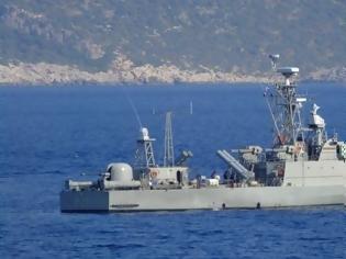 Φωτογραφία για Η πυραυλάκατος «Μπλέσσας ΙΙ» περιπολεί στο Καστελόριζο (φωτο)