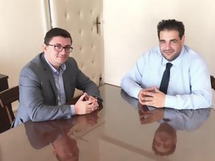 Φωτογραφία για Συνάντηση Δημάρχου Ξηρομέρου ΓΙΑΝΝΗ ΤΡΙΑΝΤΑΦΥΛΛΑΚΗ με τον ΘΟΔΩΡΗ ΛΙΒΑΝΙΟ υφυπουργό Εσωτερικών