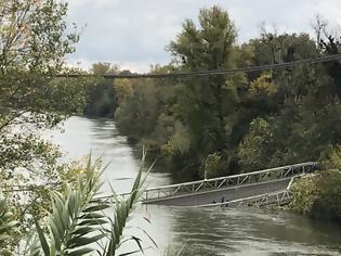 Φωτογραφία για Κατάρρευση γέφυρας στην Τουλούζη: Τον οδηγό του φορτηγού αναζητούν οι γαλλικές Αρχές