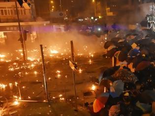 Φωτογραφία για Χονγκ Κονγκ: Ο ΟΗΕ καταγγέλλει την ακραία βία και καλεί τις αρχές να αποκλιμακώσουν την κρίση