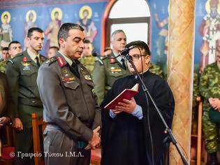 Φωτογραφία για Το Σύμβολο της Πίστεως ανέγνωσε ο Διοικητής της 1ης Μεραρχίας Υποστράτηγος Σάββας Κολοκούρης
