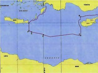 Φωτογραφία για Στη δημοσιότητα ο χάρτης της συμφωνίας Τουρκίας-Λιβύης: «Εξαφάνισαν» το Καστελόριζο – Άγκυρα: «Η Αθήνα συνεργάζεται με τον Χαφτάρ» (upd)