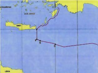 Φωτογραφία για Τούρκος αξιωματούχος δημοσίευσε τον χάρτη της συμφωνίας με τη Λιβύη