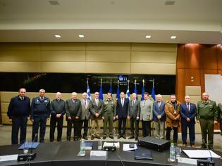 Φωτογραφία για Σύσκεψη ΥΦΕΘΑ Αλκιβιάδη Στεφανή με το Συντονιστικό Συμβούλιο των τριών Ενώσεων Αποστράτων Αξιωματικών Ενόπλων Δυνάμεων