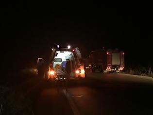 Φωτογραφία για Νεκρός ο συνεπιβάτης του δικύκλου από το τροχαίο στη ΓΟΥΡΙΩΤΙΣΣΑ