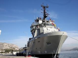 Φωτογραφία για ΑΤΛΑΣ Ι: Νέο πλοίο στο Πολεμικό Ναυτικό
