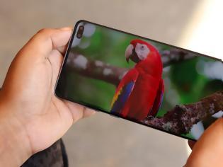 Φωτογραφία για H  οθόνη των 120 Hz σε ένα Samsung smartphone