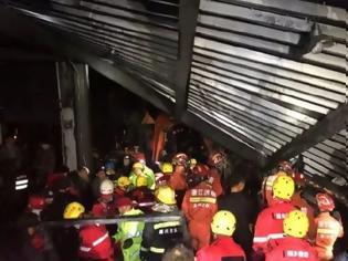 Φωτογραφία για Επτά νεκροί και τέσσερις σοβαρά τραυματίες από κατάρρευση οροφής λυμάτων