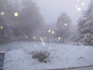 Φωτογραφία για Χιόνισε στα ορεινά της Θεσσαλονίκης - Στον πάγο μέχρι την Πέμπτη όλη η χώρα