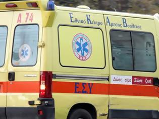 Φωτογραφία για Τροχαίο με δύο βαριά τραυματίες στη Λαυρίου