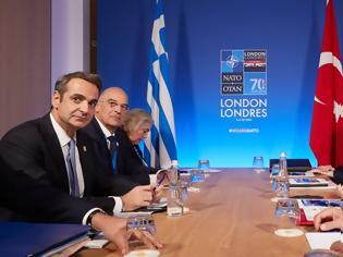 Φωτογραφία για Συνάντηση Μητσοτάκη-Ερντογάν: Τι είπαν οι δύο ηγέτες στη συνάντηση στο Λονδίνο