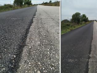 Φωτογραφία για Δρόμος ΑΚΤΙΟΥ-ΑΓΙΟΣ ΝΙΚΟΛΑΟΥ Βόνιτσας: Έστρωσαν με άσφαλτο τον... μισό δρόμο! -Κίνδυνος για μοτοσικλετιστές!