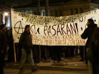 Φωτογραφία για Επέτειος δολοφονίας Γρηγορόπουλου: Ξεκίνησε η πορεία των αντιεξουσιαστών