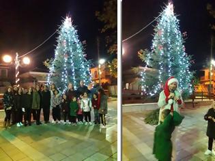 Φωτογραφία για Άναψε το χριστουγεννιάτικο δέντρο στα ΠΑΛΙΑΜΠΕΛΑ - [ΦΩΤΟ: Στέλλα Λιάπη]