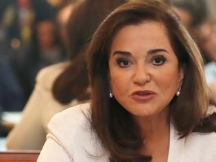 Φωτογραφία για Ντόρα Μπακογιάννη: Δεν θα επιτρέψουμε να κυριαρχήσει η λογική ότι τα νησιά μας δεν έχουν υφαλοκρηπίδα