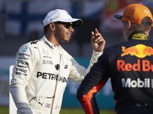 Φωτογραφία για Ο Hamilton «κάρφωσε» τον Verstappen
