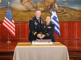 Φωτογραφία για Συγχαρητήρια! Στο Βαθμό της Αντισυνταγματάρχη προήχθη η Ελληνομαερικανίδα Τχης του NRDC-GR Nikolitsa Wooten