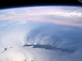 Φωτογραφία για Η Ελλάδα από τον Διεθνή Διαστημικό Σταθμό ISS σήμερα