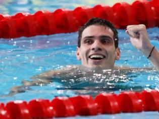 Φωτογραφία για Και Χάλκινο ο Ανδρέας Βαζαίος, πρωταθλητής Ευρώπης στα 200μ. πεταλούδα